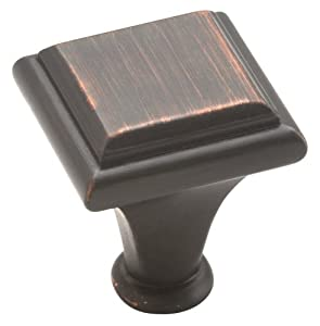 Amerock BP26131ORB Manor Knob, Oil Rubbed Bronze, 1-Inch Diameter