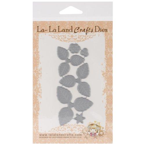 La-La Land Crafts Die-Pretty Poinsettia, 4.25-Inch by 2-Inch