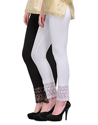 2DAYS-FASHION-Plazzo-Pants-Combo-Black-White