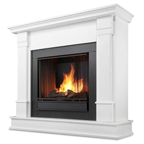 Real Flame Silverton Ventless Gel Fireplace White (Real Flame Fireplace compare prices)