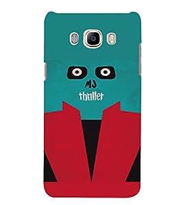 PrintVisa MJ Thriller Design 3D Hard Polycarbonate Designer Back Case Cover for Samsung Galaxy J5