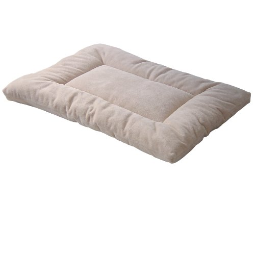 Pet Dreams Plush Sleep-Eez Dog Bed Reversible 30 By 20-Inch Pet Bed, Medium, Ivory front-695021