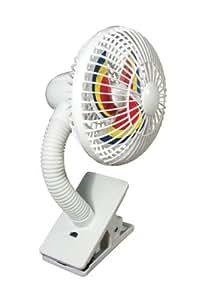 Sunshine Kids Stroller Fan, White/Blue (Discontinued by Manufacturer) (Discontinued by Manufacturer)