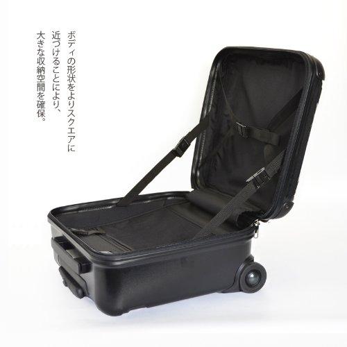 キャラートアートスーツケース ベーシック クイーン (レースパーブル) ジッパー2輪 機内持込