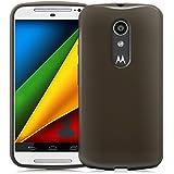 Cotechs® - Coque de protection - Caisse de gel de peau de couverture de TPU pour Nouveau 2014 Motorola Moto G 2 (2ème Génération) - Noir - Comprend protecteur d'écran