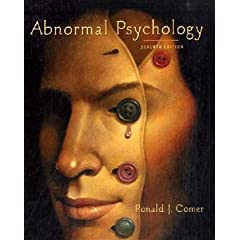 abnormal psychology & case studies in abnormal psychology comer 7th Find best value and selection for your abnormal psychology ronald j comer 7th edition search on ebay world's leading marketplace.