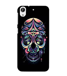 HTC DESIRE 626 + SKULL Back Cover by PRINTSWAG
