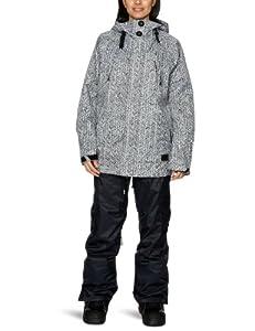 O'Neill Women's Sketch Snow Jacket  -  White Aop 2, X-Small