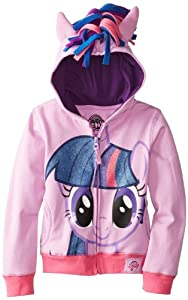 FREEZE Little Girls' My Little Pony Twilight Sparkle Hoodie