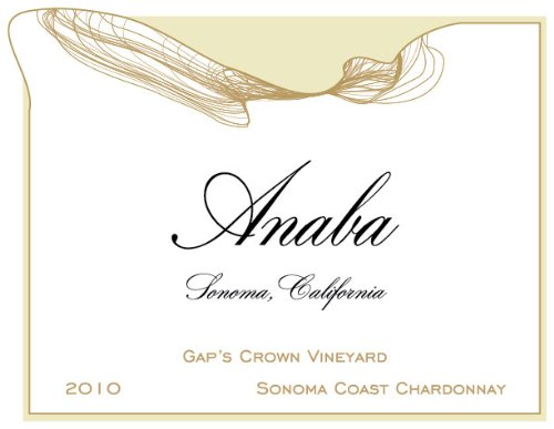 2010 Anaba Gap's Crown Vineyard Chardonnay White