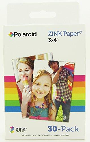 Polaroid-M340-Zink-Media-Fotopapier-GL10-Paper-102-cm-4-Zoll-x-76-cm-3-Zoll-30-er-Pack