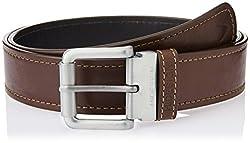 Hidesign Alanzo Brown Reversible Leather Men's Belt