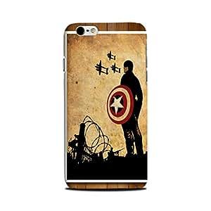 StyleO Iphone 6 plus/ Iphone 6s Plus Designer Printed Case & Covers (Iphone 6 plus/ Iphone 6s Plus Back Cover) - Superhero Captain America
