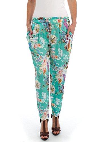 Pantalone Naf Naf Mosaic 40 Multicolore