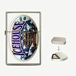 icehouse beer Flip Top Lighter and Case Box