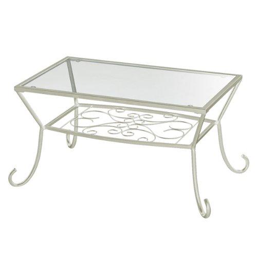テーブル ガラステーブル LaLaシリーズ ローテーブル LA-007
