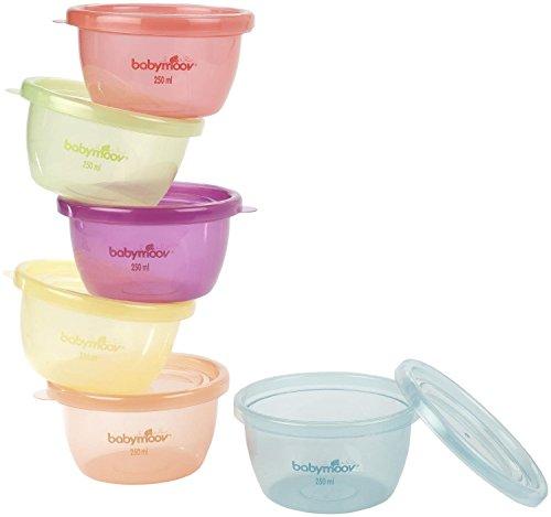 Babymoov Baby Bowls - 8 oz - 6 ct