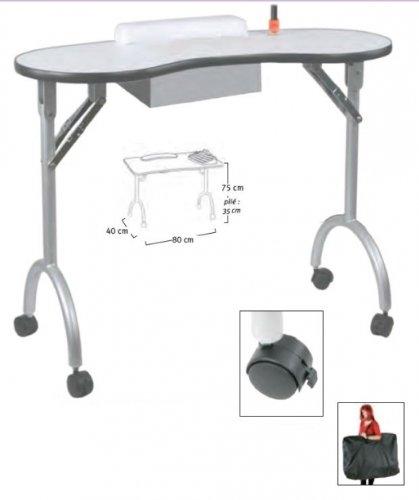 table manucure pliante pas cher. Black Bedroom Furniture Sets. Home Design Ideas