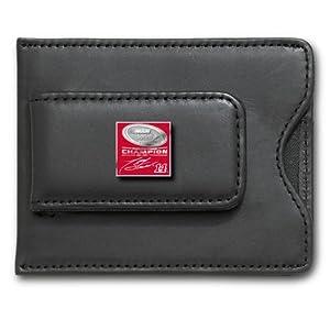 Tony Stewart 2011 NASCAR Sprint Cup Champion Enamel Logo on Black Leather Money Clip... by Logo Art