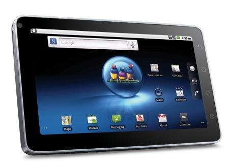 Viewsonic 7inch Android 2.2 Internet Tablet With