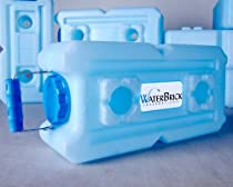 Water Storage Containers - WaterBrick - 4 Pack Blue