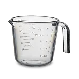 Pc Measuring Cup Scale Cup Measuring Cup Baking Tools 300ml Transparent Measuring