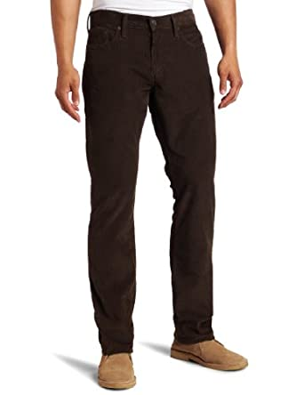 Levi's Men's 514 Slim Straight Cord Jean, Soil, 35x34