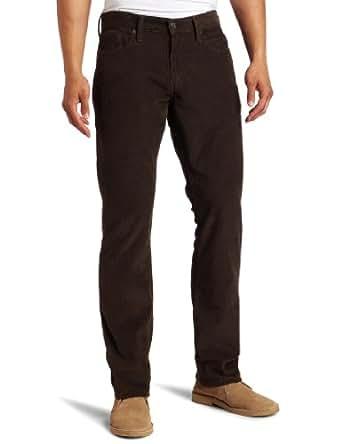 Levi's Men's 514 Slim Straight Cord Jean, Soil, 35x34