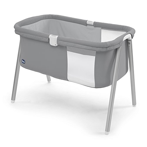 Chicco Lullago - Cuna ultraligera y compacta, 7 kg, color gris