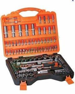 Chiavi a bussola cricchetto kit set di chiavi 108pz chrome for Bussola amazon