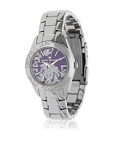 TOM TAILOR Reloj de cuarzo 5406502 Plateado 28 mm