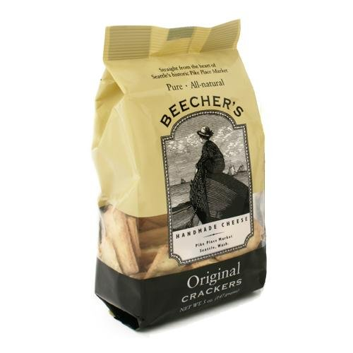 Beecher's Original Crackers (3 pack) - 3 x 5 Ounce. (Beechers Cheese compare prices)
