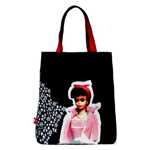 Retro Barbie Shopper / Tote Bag