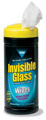 Stoner 90166 Invisible Glass Wipe - 28 Count