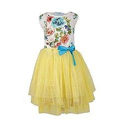 Pikaboo Floral Harmony Dress- Yellow