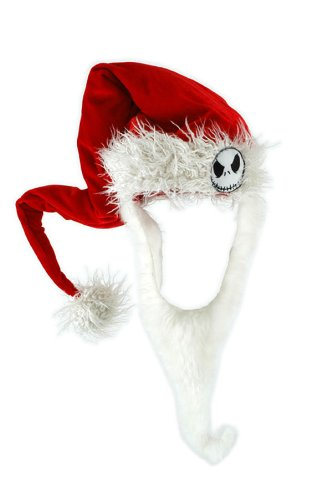 Jack Skellington's Santa Hat With Beard