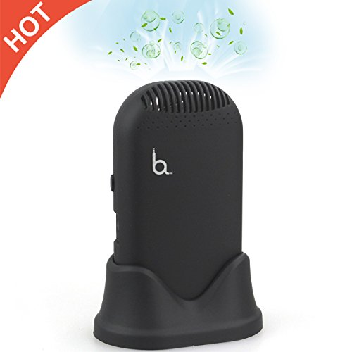New Improved,HAYATA Mini-Mate Personal Ionic Air Purifier Filter Travel Size Portable Fresher, Necklace Ionizer ,USB Rechargeable.Smell Eliminator Remove Smoke and Bad Odors christmas gift