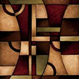 Connections I by Eve- Fine Art Print on CANVAS : 53 x 53 Inches