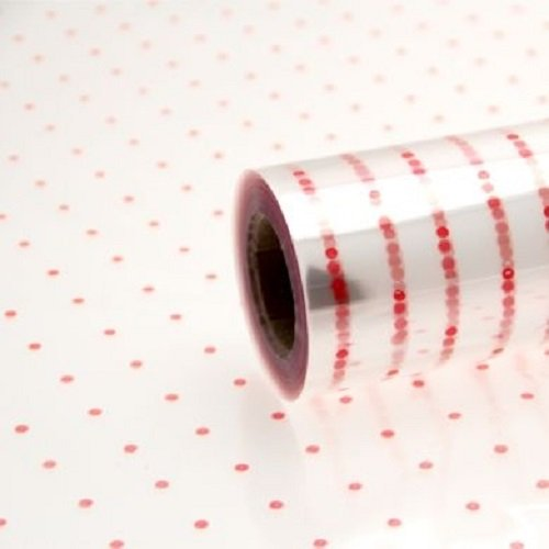 1-roll-of-coloured-dot-florist-flower-cellophane-film-gift-wrap-800mm-x-10metres-red