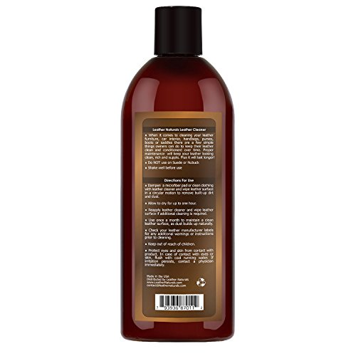 Leather Cleaner And Conditioner The Ultimate With Lanolin