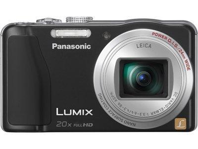 Panasonic Lumix Dmc-Zs19 Digital Camera- Black front-595454