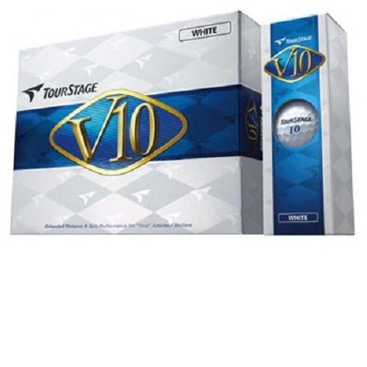 [해외] BRIDGESTONE(브리지스톤) TOUR STAGE 투어 스테이지 V10 화이트 12개입 VXWX (2012-03-12)