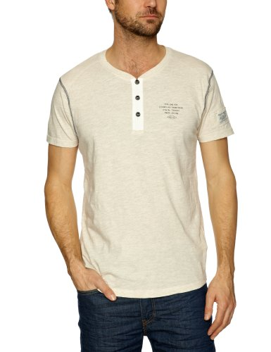 Jack and Jones Orwel Plain Men's T-Shirt Deadstock Melange Medium