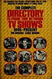 img - for The Complete Directory to Prime Time Network TV Shows: 1946-present. book / textbook / text book
