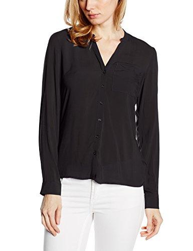 VERO MODA Vmsunshine Ls Shirt Noos-Camicia Donna    nero 46 (Taglia produttore: L)