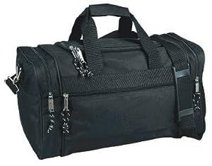 DDI 600D Poly Medium Duffel Bag - Black Case Pack 24