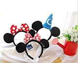 Disney Mickey Mouse Ears Headband with Blue Wizard Hat