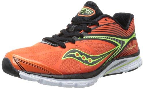Saucony Men's Kinvara 4 Running Shoe,Orange/Black/Citron,12.5 M US (Kinvara 2 compare prices)