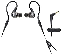 Audio Technica Inner-Ear Headphones ATH Sport 3 Water Proof (Black)