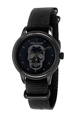 Zadig & Voltaire ZV 115/3AA Antik  - Wristwatch Unisex, Nylon, Band Colour: Black